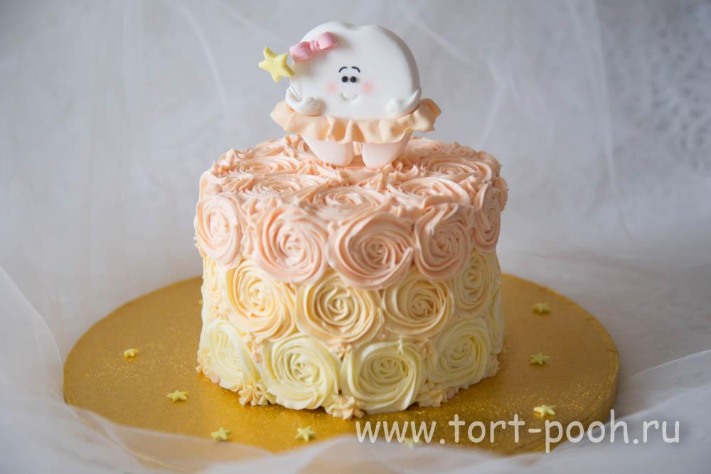 торт в виде зубика фото