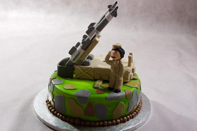 Как сделать пушку на торт