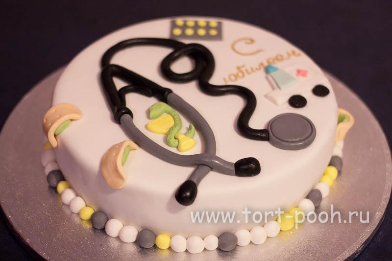 Тортик на День Рождения врачу скорой медицинской помощи.